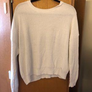 Super cute and comfy white sweater